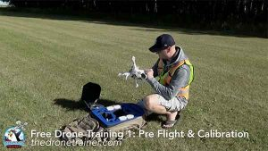 Free Drone Training Course - 1: Pre Flight & Compass Calibration