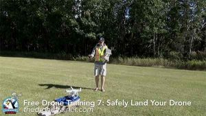 Free Drone Training Course - 7: How to Safely Land Your Drone