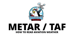 How to read aviation weather METAR TAF - The Drone Trainer