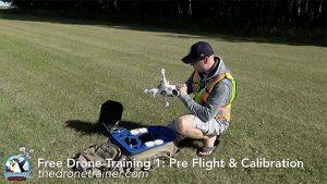 Free Drone Training Course - 1: Pre Flight & Compass Calibration