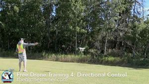 Free Drone Training Course - 4: Directional Control