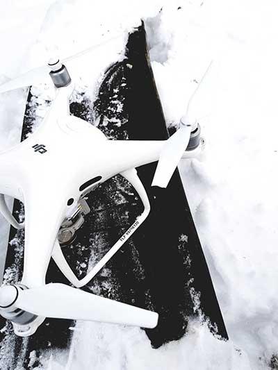 Broken Drone Prop - DJI Phantom