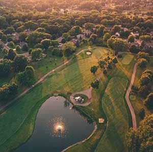 Scott Summer Minnesota Drone Pilot - Golf Course