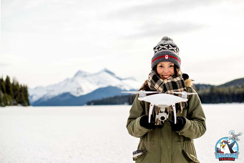 Winter Drone Flight Tips